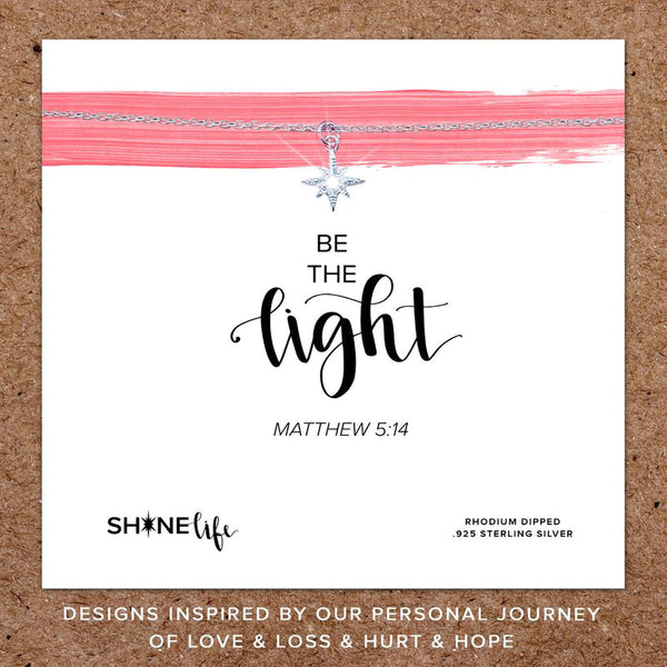 Shine Life : Be the Light Necklace