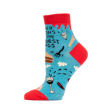 "Blue Q : Women's Ankle Socks - ""Inner Demons Do the Darndest Things"""