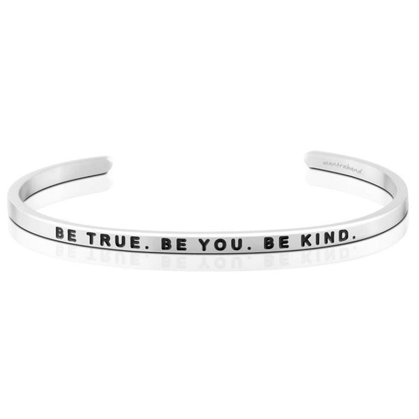 "MantraBand : ""Be True. Be You. Be Kind."" Bracelet"