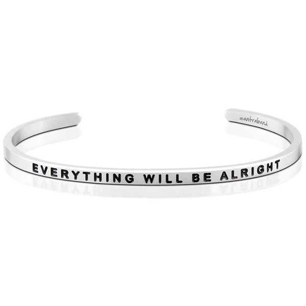 "MantraBand : ""Everything Will Be Alright"" Bracelet"