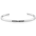 Infinite Love Bracelet in Silver