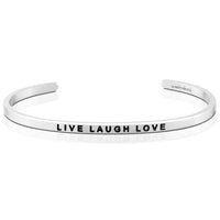"MantraBand : ""Live Laugh Love"" Bracelet"