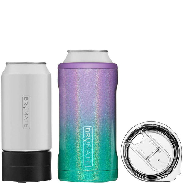 Brumate : Hopsulator Trio 3-In-1 | Glitter Mermaid (16oz/12oz Cans)