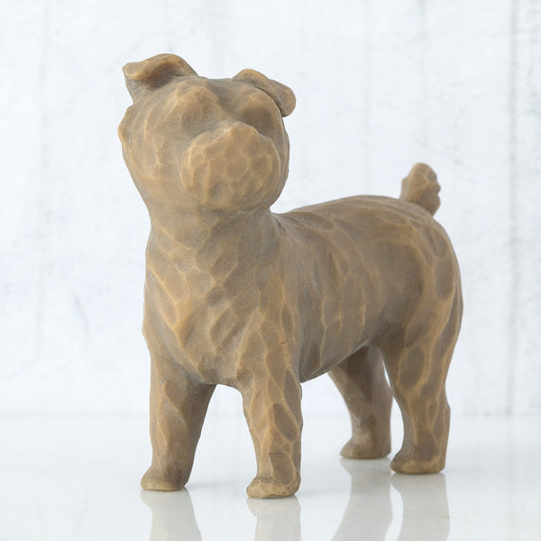 Willow Tree : Love My Dog (Small, Standing Up) Figurine