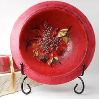Wax Pottery Vessel in Cranberry Spice