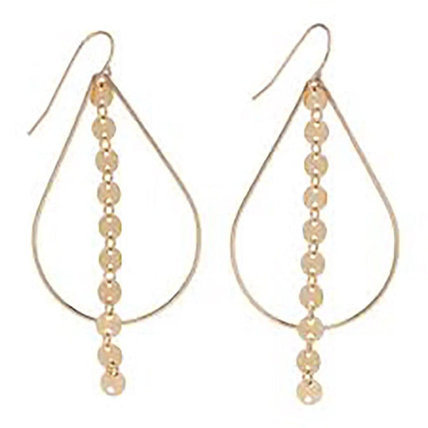 enewton : Basic Teardrop With Infinity Chic Earrings
