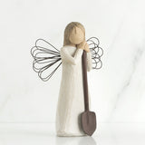 Angel of the Garden Figurine - Annie's Hallmark Baldoria