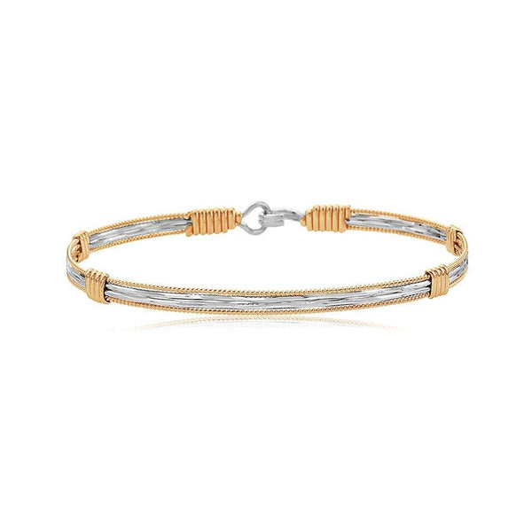 Ronaldo Jewelry : Be The Light Bracelet - Made with 14K Gold and Argentium Silver - Annie's Hallmark & Gretchen's Hallmark, Sister Stores