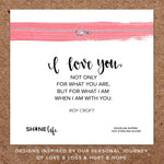 Shine Life : I Love You Necklace