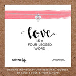 Shine Life : Pet Love Necklace - Annie's Hallmark & Gretchen's Hallmark, Sister Stores