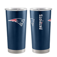 New England Patriots Travel Tumbler 20oz Ultra Navy