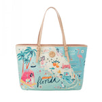 Spartina 449 : Florida Large Map Tote