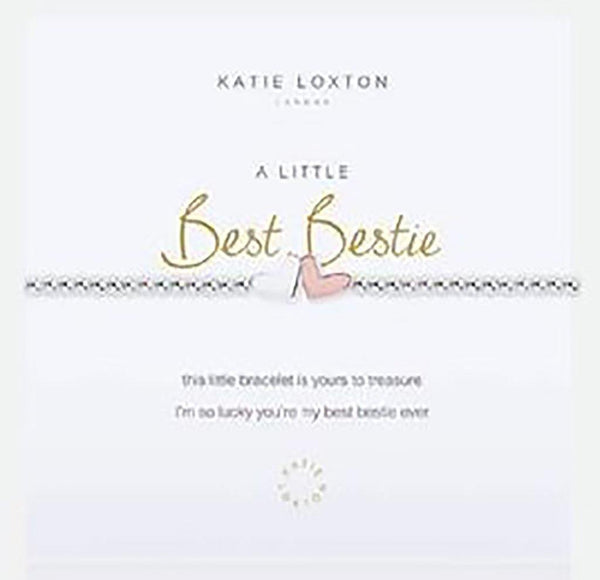 "Katie Loxton : ""A Little Best Bestie"" Stretch Bracelet"