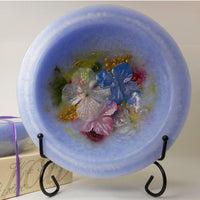 Wax Pottery Vessel in Hydrangea
