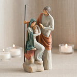 Willow Tree : The Holy Family Figurine - Annie's Hallmark Baldoria