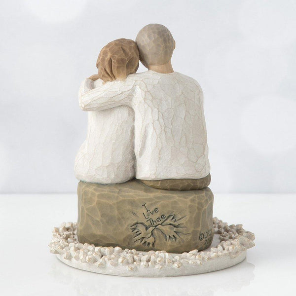 Willow Tree : Anniversary Cake Topper