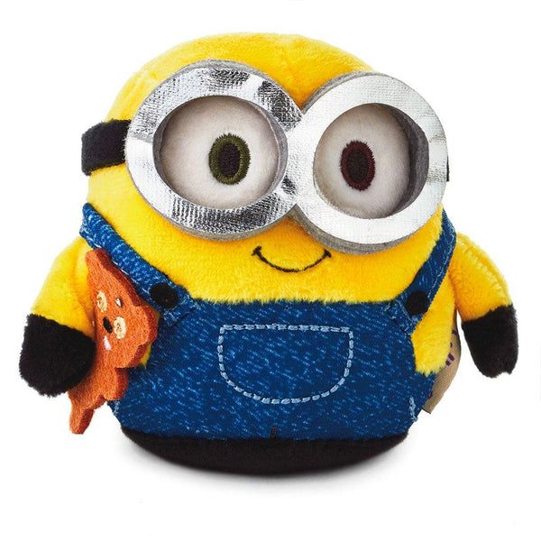 Hallmark : itty bittys® Despicable Me Bob the Minion Talking Plush