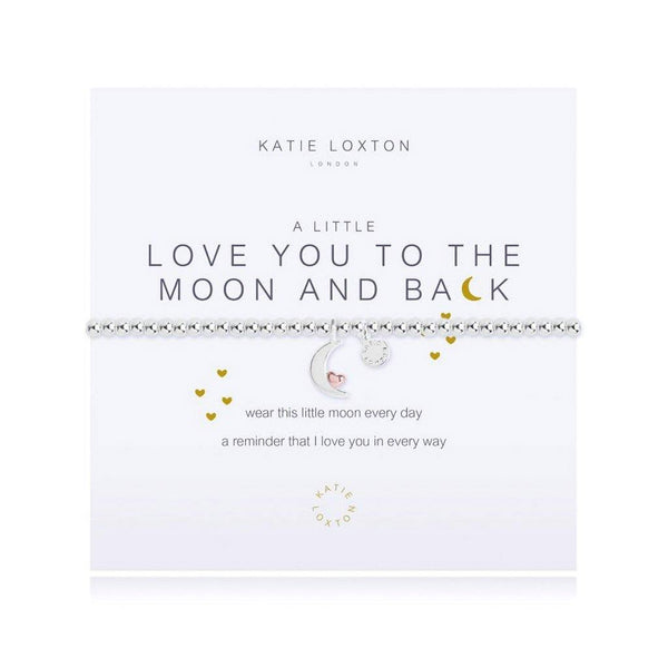 Katie Loxton : A Little Love You To The Moon & Back Bracelet