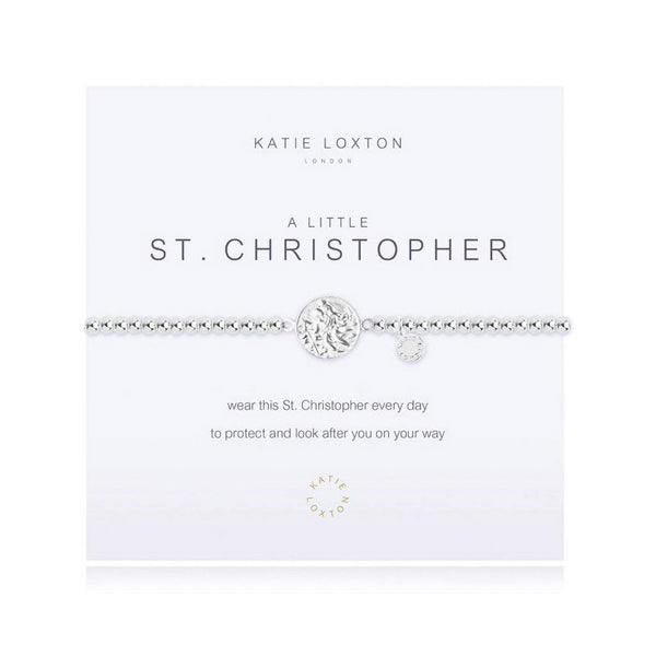 Katie Loxton : A Little St Christopher Bracelet