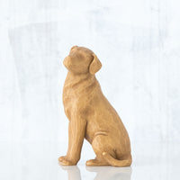 Willow Tree : Love My Dog (Light) Figurine