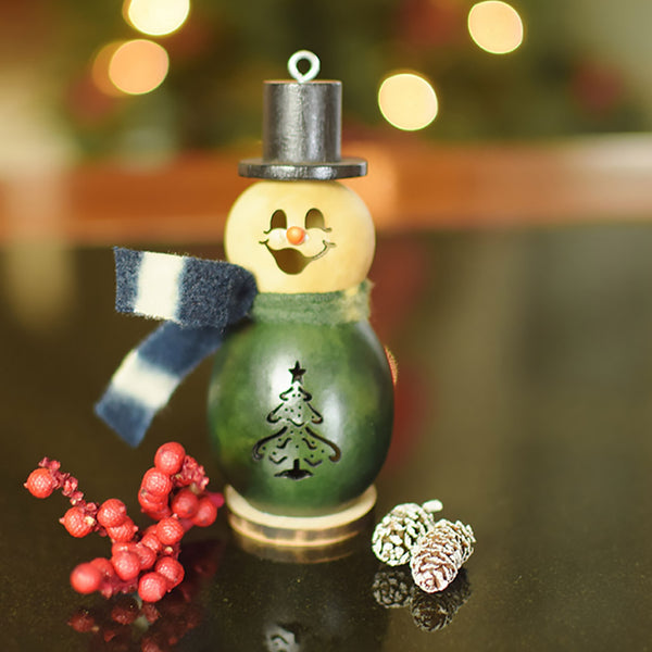 Meadowbrooke Gourds : Evergreen the Snowman - Lil'