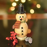 Meadowbrooke Gourds : Flurry the Snowman - Lil'