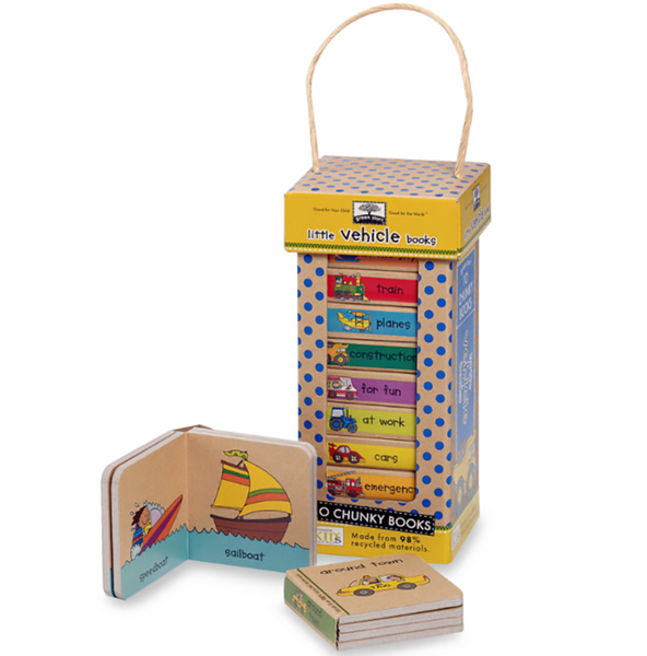 Melissa & Doug : Little Vehicle Book Tower