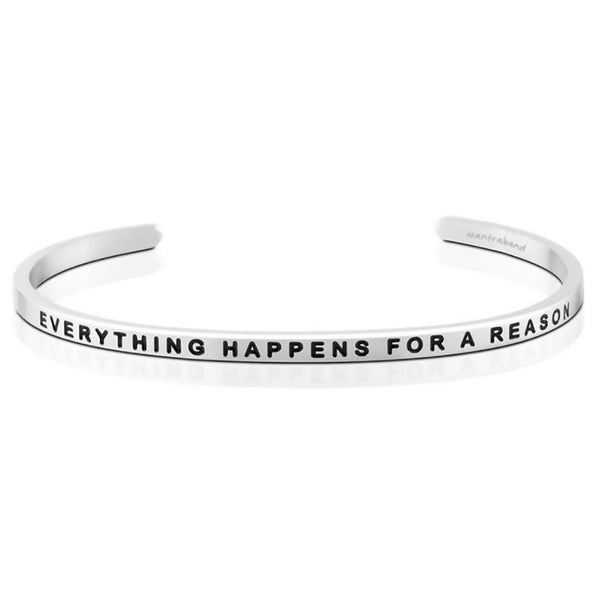 "MantraBand : ""Everything Happens For A Reason"" Bracelet"