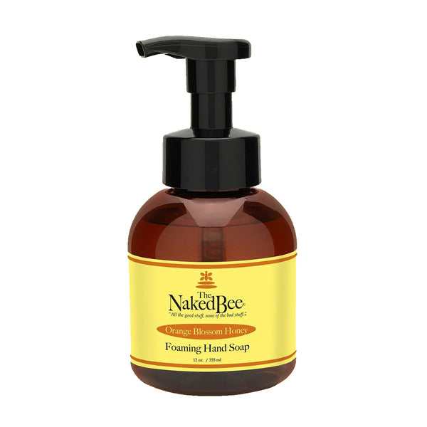 The Naked Bee : Foaming Hand Soap in Orange Blossom Honey