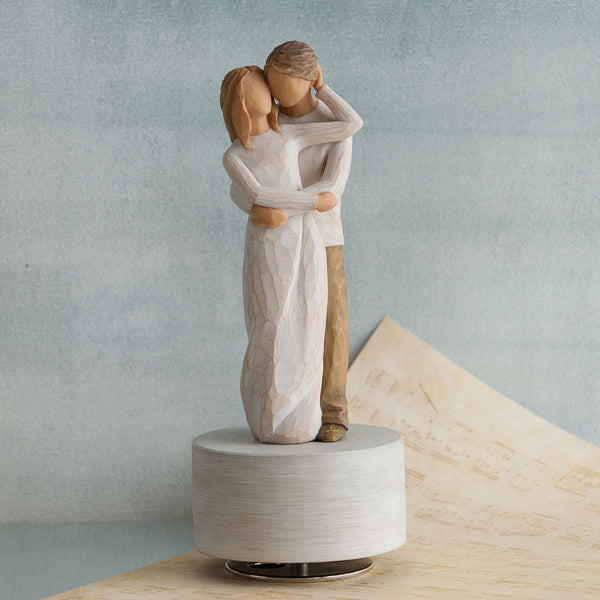 Willow Tree : Together Musical Figurine