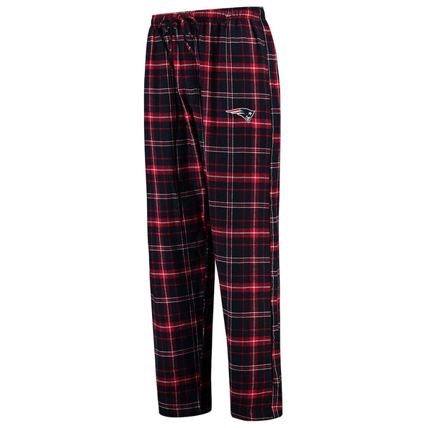 Plaid New England Patriots Pajama Pants