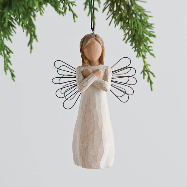 Willow Tree : Sign for Love Ornament