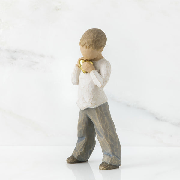 Willow Tree : Heart of Gold Figurine