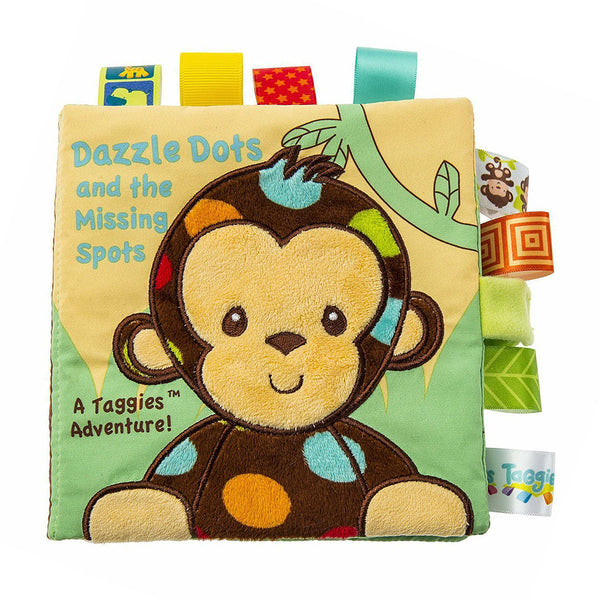 "Taggies - ""Dazzle Dots and the Missing Spots"" Soft Book"