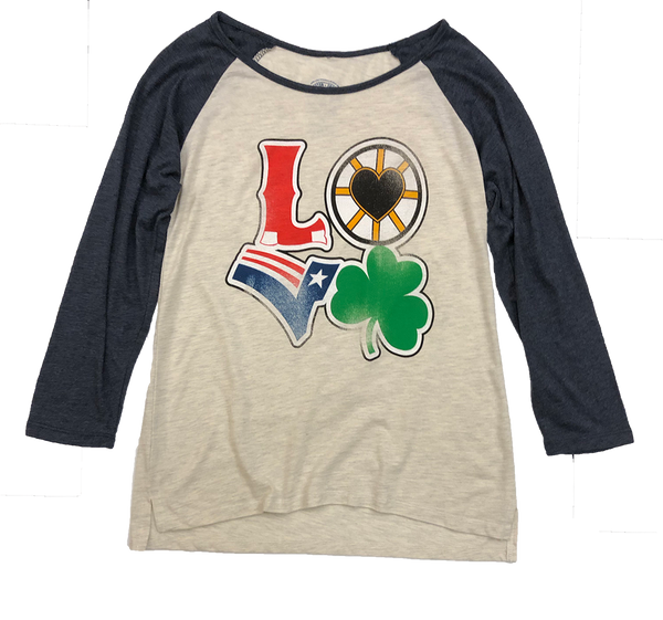 Boston Love Long Sleeve T-Shirt