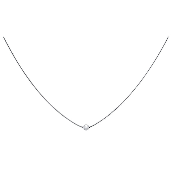 Cape Cod Snake Chain Necklace in Sterling Silver - Annie's Hallmark Baldoria