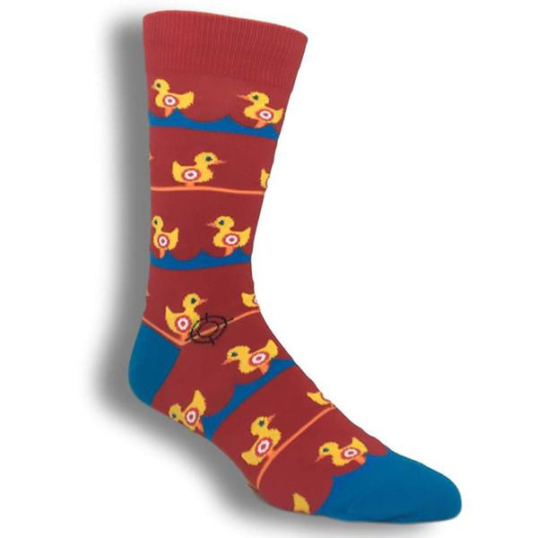 Socksmith : Men's Crew Socks - Ducks In A Row