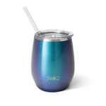 Swig : Stemless Wine Cup in Mermazing