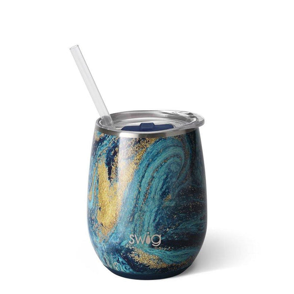 Swig : Starry Night 14oz Stemless Wine Cup