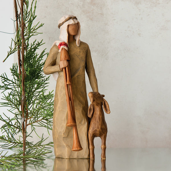 Willow Tree : Zampognaro Figurine