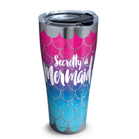 Tervis : Stainless Steel Tumblers in Mermaid Tail (2 Asstd Sizes)