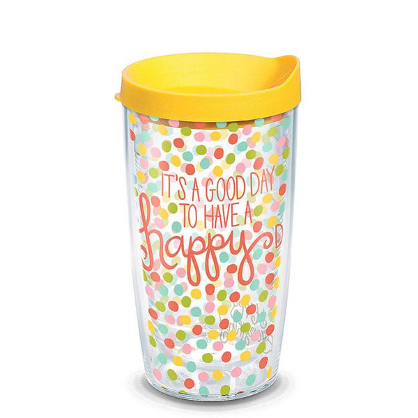 "Tervis : 16 oz Tumbler in Happy Everything ""Good Day"""