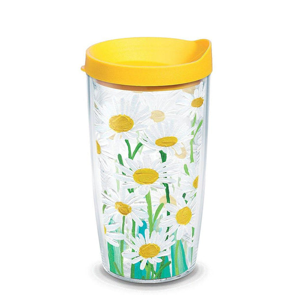 Tervis : 16 oz Tumbler in Painted White Daisies