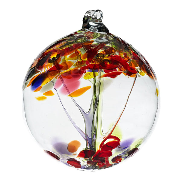 Kitras : Tree of Enthusiasm Glass Ornament