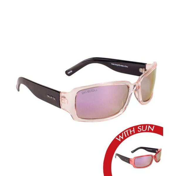 Solize Sunglasses - Walk on By - Clear to Pink