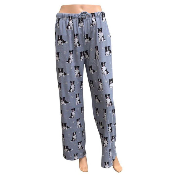 Pet Lover Unisex Pajama Bottoms - Border Collie