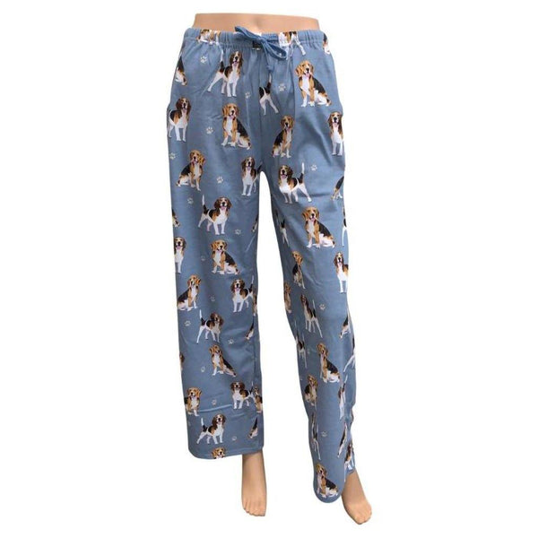 Pet Lover Unisex Pajama Bottoms - Beagle