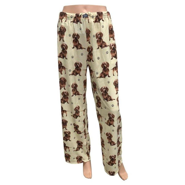 Pet Lover Unisex Pajama Bottoms - Dachshunds