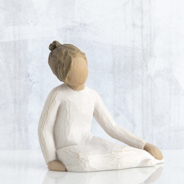 Willow Tree : Thoughtful Child Figurine