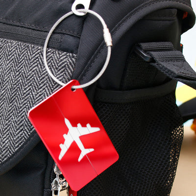 Tag a Bag with a Bag Tag - Airplanes